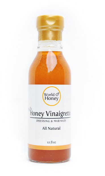 World O' Honey: Dad's Honey Vinaigrette